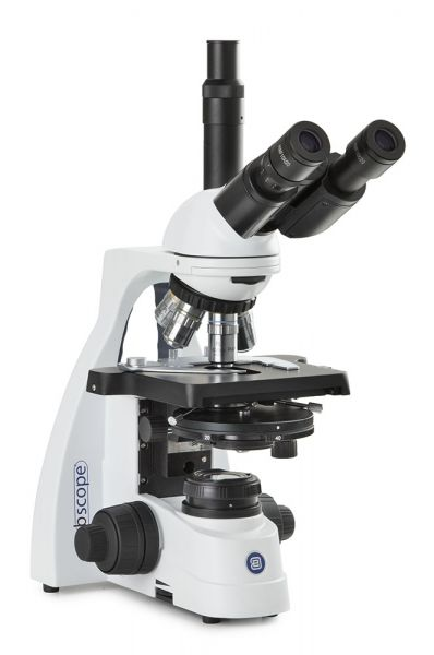 Euromex bScope trinocular Mikroskop, HWF 10x/20 mm eyepieces