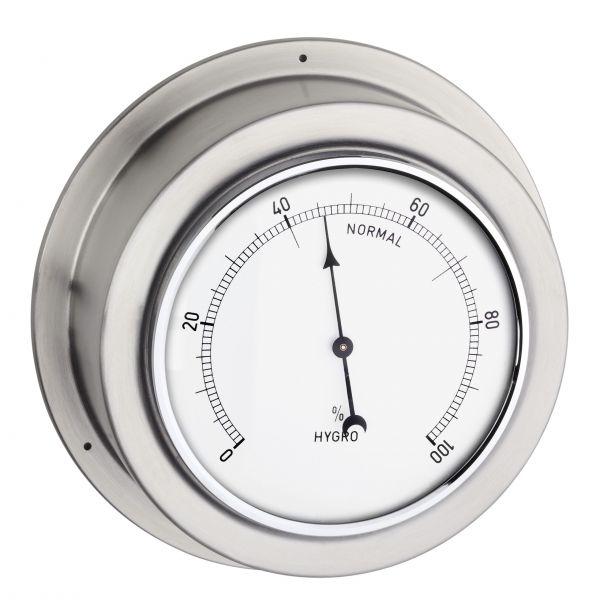 TFA Analoges Hygrometer aus Edelstahl MARITIM 44.1018