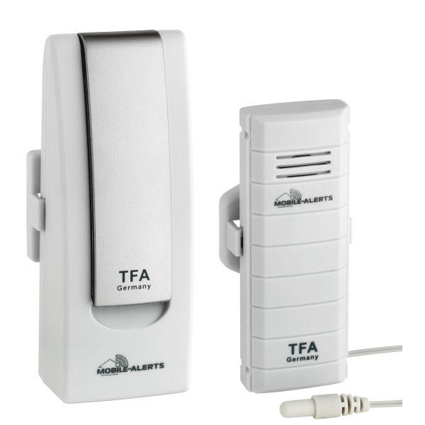 TFA 'WEATHERHUB' Temperatur-Monitor für Smartphones (iOS und Android*) 31.4002.02