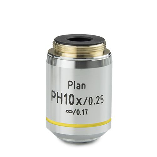 Euromex Plan PLPHi 10x/0.25 phase contrast IOS infinity corrected objective for iScope