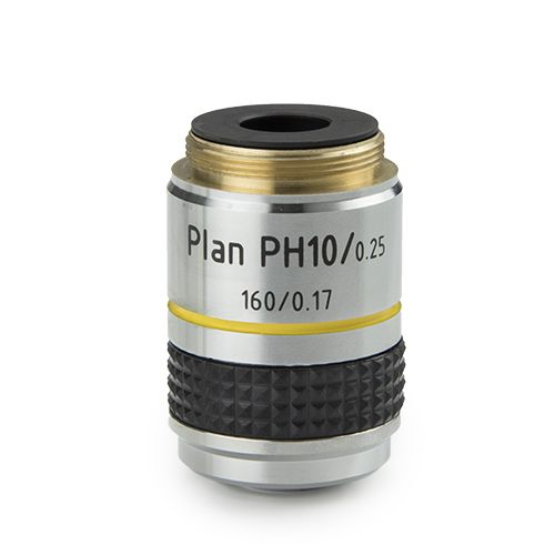 Euromex Plan PLPH 10x/0.25 phase contrast objective for iScope