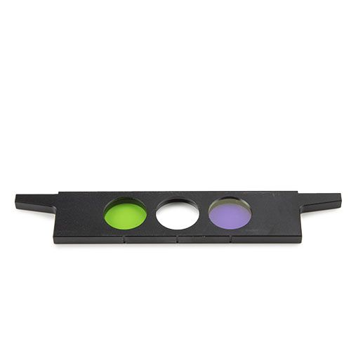 Euromex Slider with green and blue filters for iScope