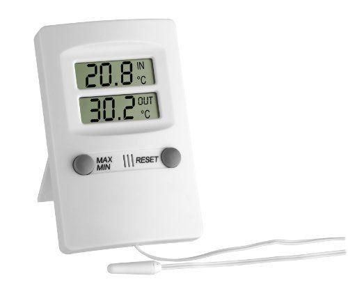 TFA Elektronisches Maxima-Minima-Thermometer 30.1009
