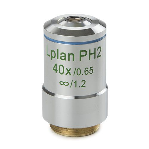 Euromex Plan phase LWD 40x/0.60 infinity corrected IOS, objective, working distance 3.71 mm