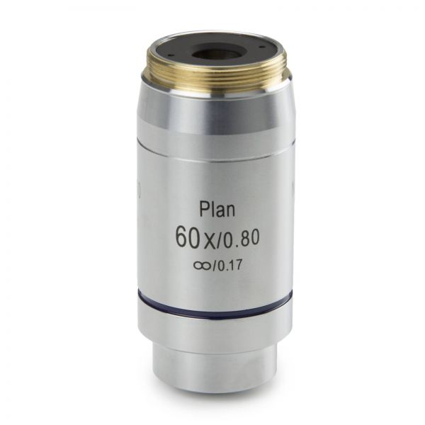 Euromex Infinity EIS 60 mm Plan PLi S60x/0.80 objectives. Working distance 0,3 mm