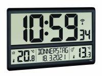 TFA Digitale XL-Funkuhr mit Außen- und Innentemperatur 60.4521.01