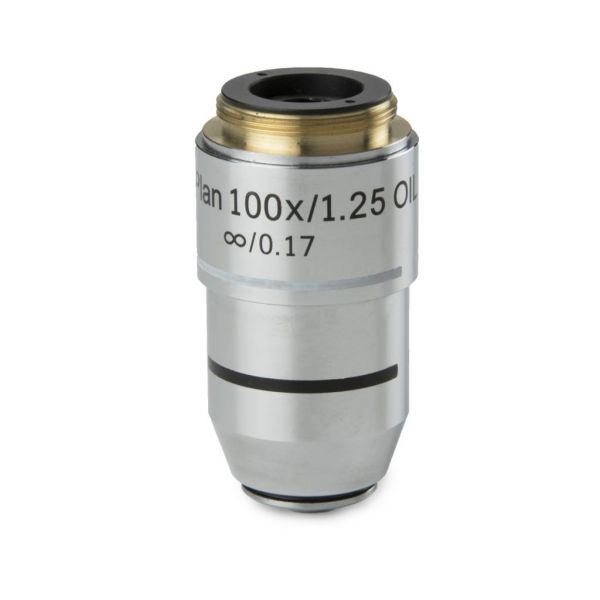 Euromex Plan infinity corrected S100x/1.25 oil immersion IOS objective