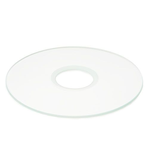 Euromex Transparant glass insert with hole for Oxion Inverso inverted micrososcopes