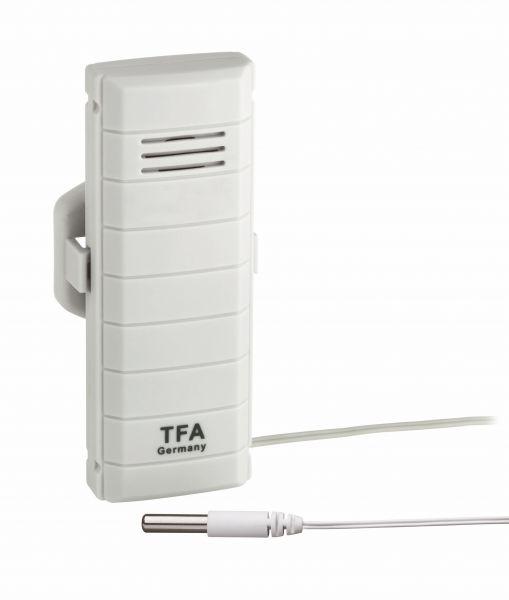 TFA WeatherHub T Sender mit wasserfestem Kabelfühler 30.3301.02