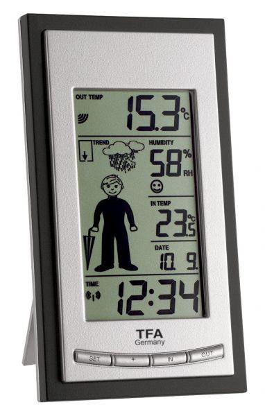 TFA WEATHER BOY Funk-Wetterstation 35.1084.IT