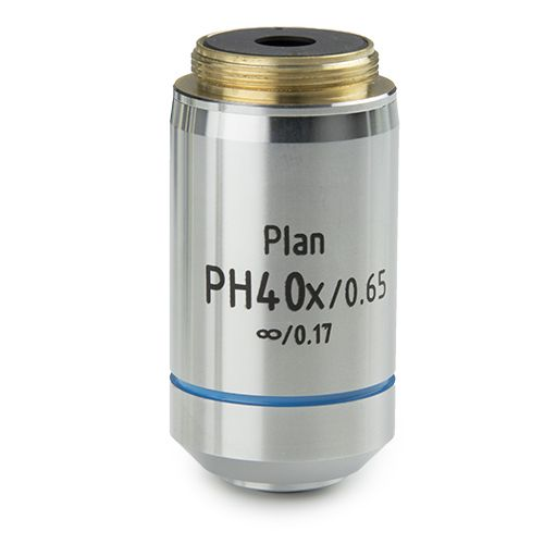 Euromex Plan PLPHi S40x/0.65 phase contrast IOS infinity corrected objective for iScope