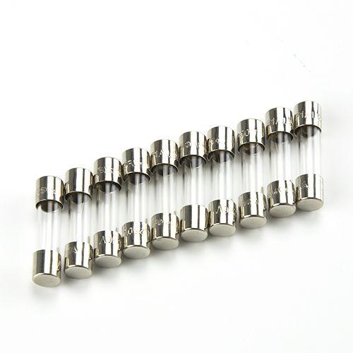 Euromex Glass fuses 500 mA 250 V, 10 pieces