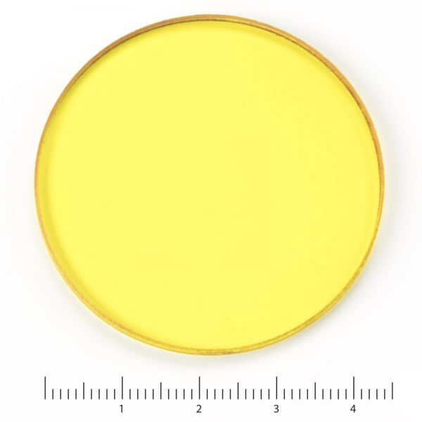 Euromex Yellow filter for lamphouse, diameter 45 mm