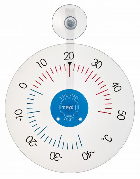 TFA Fensterthermometer transparent / 14.6020