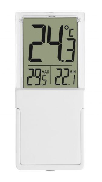 TFA VISTA Digitales Fenster- oder Innenthermometer 30.1030