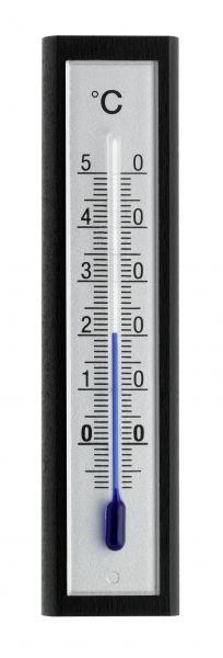 TFA Innenthermometer schwarz/silber, FS-TFA / 12.1043.06