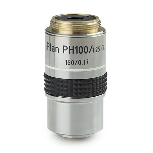 Euromex Plan PLPH S100x/1.25 phase contrast objective for iScope