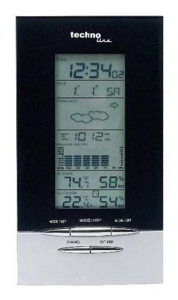 Eschenbach Wetterstation Wetterstation WS 6730 ALU Optik 53096