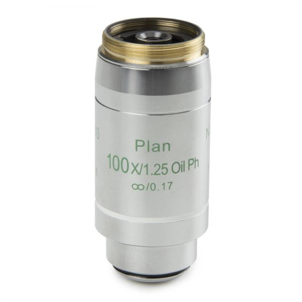 Euromex Infinity EIS 60 mm Plan Phase contrast PLPHi S100x/1,25 oil immersion objective. Working
