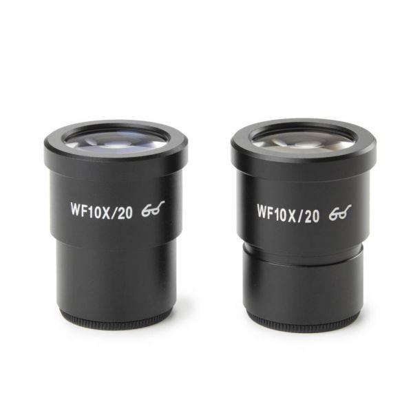 Euromex Paar HWF 10x/20 mm Okular - SB.6010