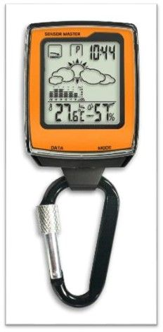 Kasper & Richter Höhenmesser, Barometer, Kompass WEATHER CHAM - 705270