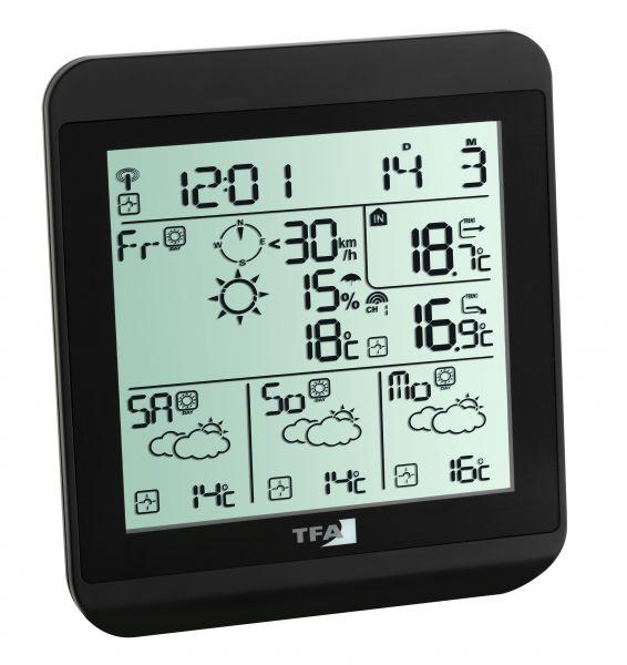 TFA Wetter-Info-Center METEOTIME FIESTA 35.1130.01