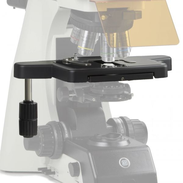 Euromex Option for left handed stage with Sapphire glass
