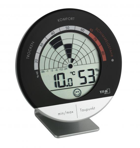 TFA Digitales Thermo-Hygrometer Schimmel Radar 30.5032