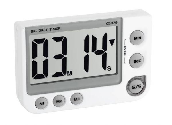 TFA Elektronischer Timer und Stoppuhr 38.2024