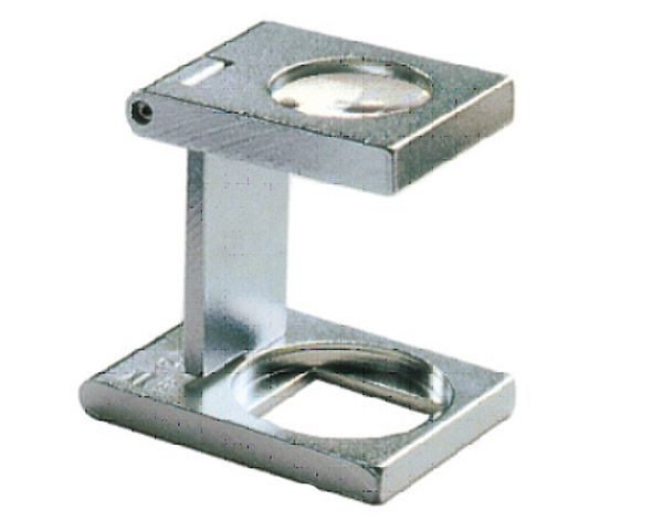 Eschenbach Präzisions-Fadenzähler aus Metall 1256