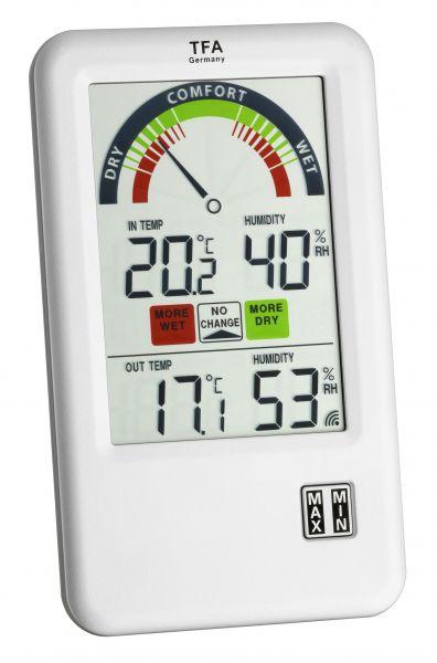 TFA Funk-Thermo-Hygrometer BEL-AIR 30.3045.IT