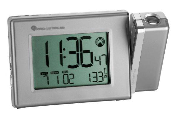 TFA Funk-Projektionsuhr mit Temperatur 98.1085