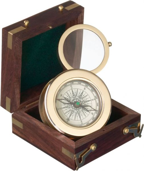 Kasper & Richter SAN JOSE - Kompass mit Lupe 380951