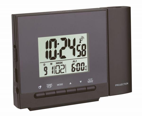 Funk-Projektionsuhr mit Temperatur