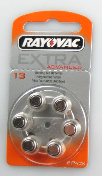 Rayovac Hörgerätebatterien EXTRA Advanced 120er Packung #13