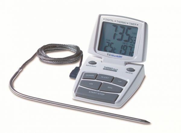 TFA Elektronischer Küchen-Thermo-Timer - 14.1500