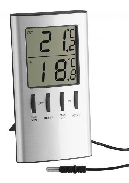 TFA Elektronisches Maxima-Minima-Thermometer 30.1027