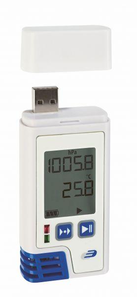 LOG220 PDF-Thermo-Hygro-Druck Datenlogger