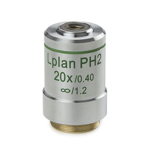 Euromex Plan phase LWD 20x/0.40 infinity corrected IOS, objective, working distance 7.66 mm