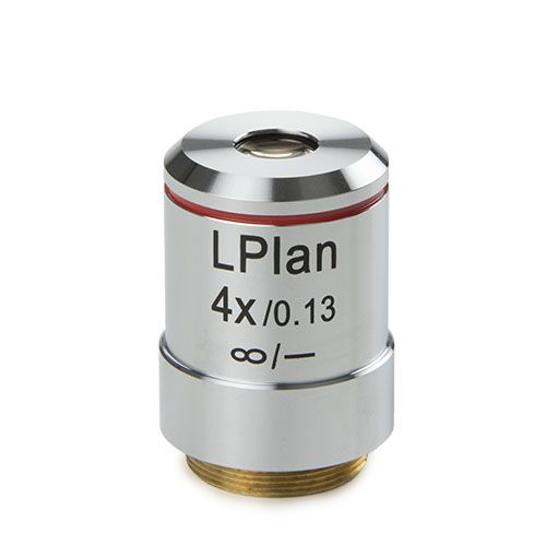 Euromex Plan LWD 4x/0,13 IOS objective, corrected for 1,2 mm