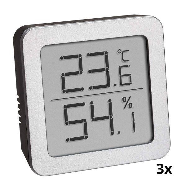 TFA Dreier-Set digitale Thermo-Hygrometer 95.2019