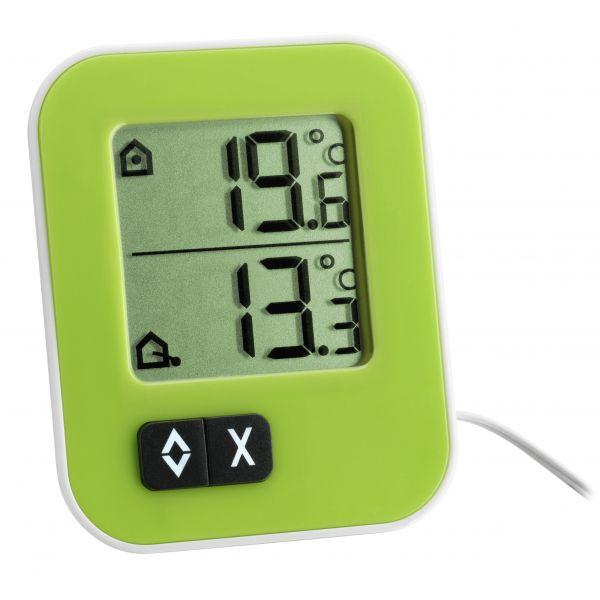 TFA Digitales Innen-Außen-Thermometer MOXX 30.1043.04