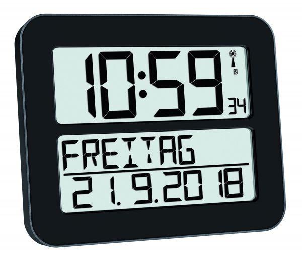 Digitale Funkuhr TIMELINE MAX 60.4512