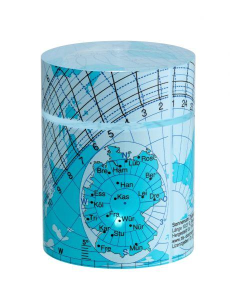 TFA Solemio Zylinder-Sonnenuhr 43.4000.06