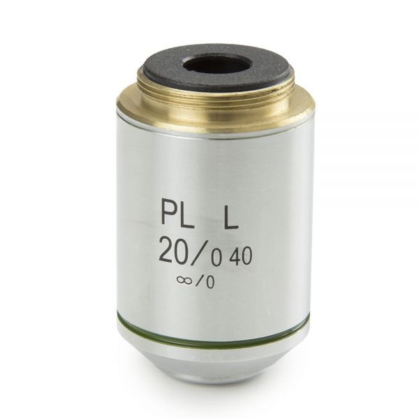 Euromex Plan PL-M 20x/0.40 infinity corrected IOS objective - 86.531