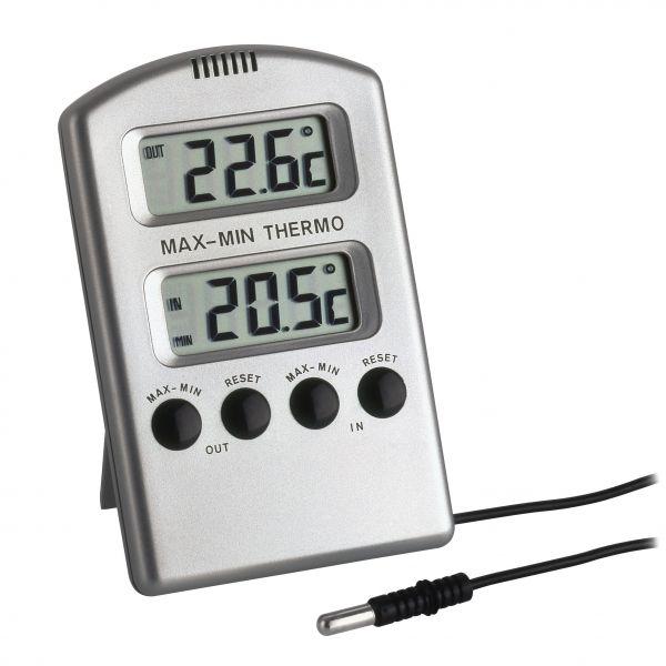 TFA Elektronisches Maxima-Minima-Thermometer 30.1020