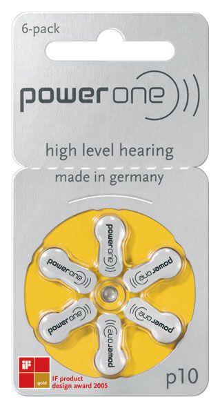Power One Hörgerätebatterien #10