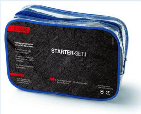 Dialog Starter-Set I Reinigungs- und Pflege-Set für Hörgeräte