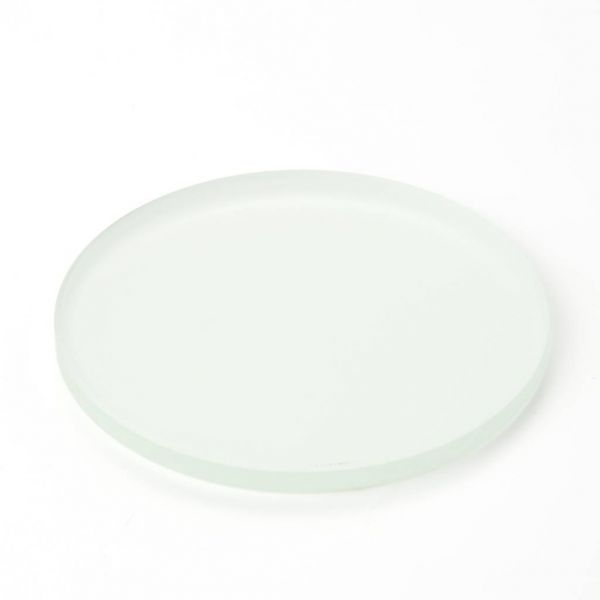 Euromex Stage plate frosted glass opaque 60 mm diameter