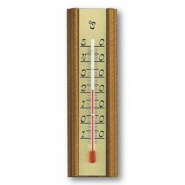 TFA Analoges Innenthermometer aus Eiche 12.1014